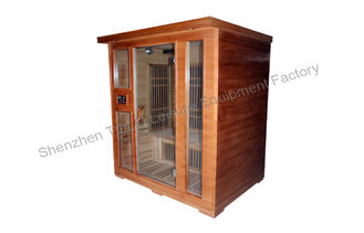 China Dual Control panel far infrared sauna cabin electric for home or public supplier