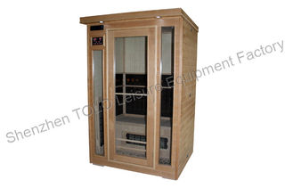 China Hemlock Far Infrared Sauna Room , Outdoor Spa Sauna For 2 Person supplier