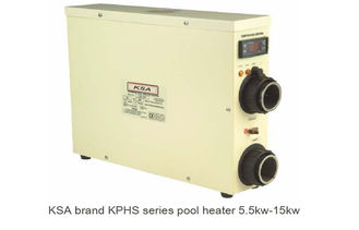 China Above Ground Electric Swimming Pool Heater Stainless Steel 11kw supplier
