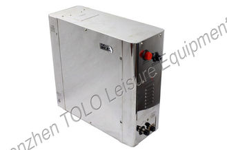 China Automatic Sauna Steam Generator Three Phase With Touch Screen Controller supplier