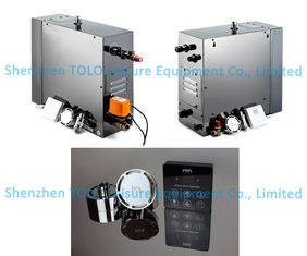 China Fully Automatic Steam Shower Generator , Home Bathroom Steam Generator With 3~24KW Power supplier