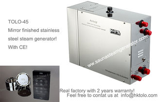 China Heat Recovery Sauna Steam Generator With Auto Flush After Power Off supplier