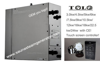 China Wet Sauna Automatic Steam Bath Generators 4.5kw 400v With Fast Steam , High Efficient supplier