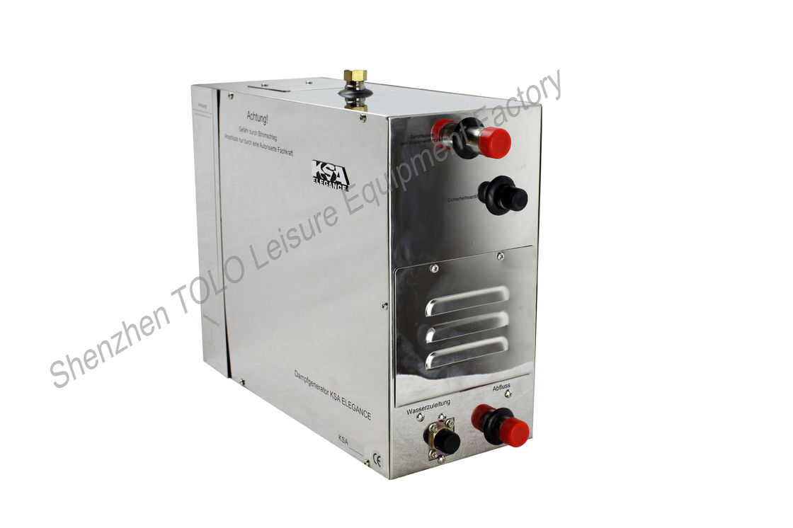 Bath Home SPA Shower Sauna Steam Generator 3 KW  220v With Controller Touch Screen