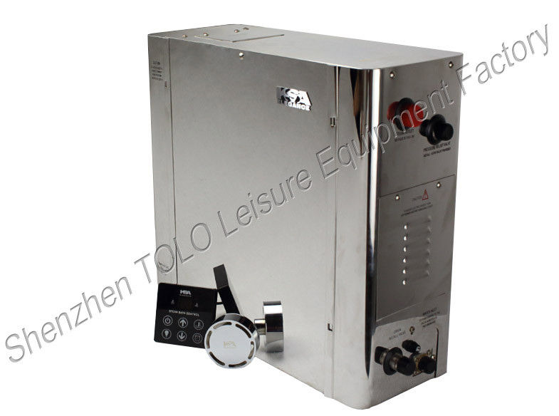 7KW 8KW 9KW Sauna Room Steam Shower Generator Units 476*180*449mm