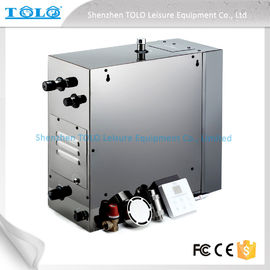 China 4.5kw 240v Auto Drain Steam Room Steam Generator With Iphone Wireless Control distributor