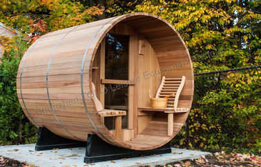 China Cedar Electronic Outdoor Steam Shower Cabins For Dry Sauna , 1800*2400mm distributor