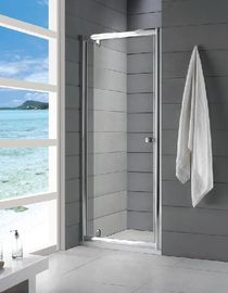 China 6mm Tempered Glass Fully Enclosed Shower Cubicle Frameless Sliding 800 × 1850mm distributor