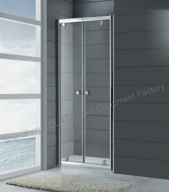 China Hinge Nano Glass Enclosed Showers , Aluminium Frameless Glass Shower Doors distributor