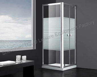 China Sliding Bathroom Glass Enclosed Showers Frameless Glass Shower Doors distributor