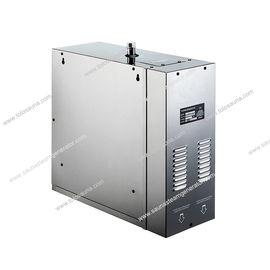China 12kw Residential Steam Generator , electric wet steam generator for steam room with automatic flushing after drain distributor